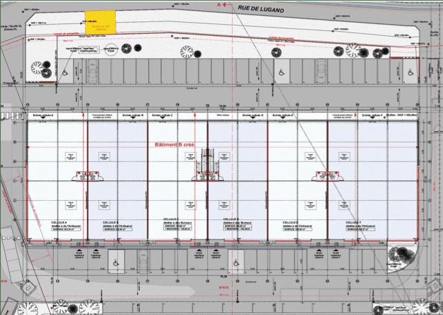plan du lugano à horbourg wihr près de colmar agence idre desaulles